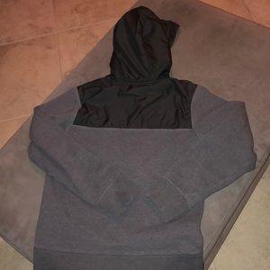 Nike Sweaters - Gray Boise State sweatshirt with rain hoodie